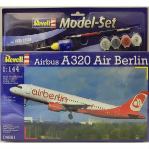 Revell 1:144 64861 MODEL SET AIRBUS A320 AIRBERL