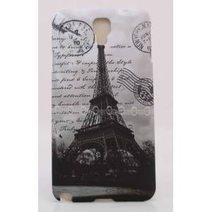 Galaxy Note 3 Neo K�l�f N7500 Paris Eyfel Kapak