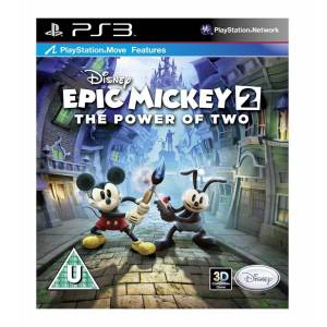 DISNEY EPIC MICKEY 2 THE POWER OF TWO PS3 SIFIR
