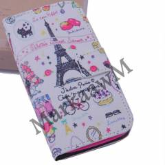 HTC ONE KILIF C�zdanl� Standl� grafity 7 model