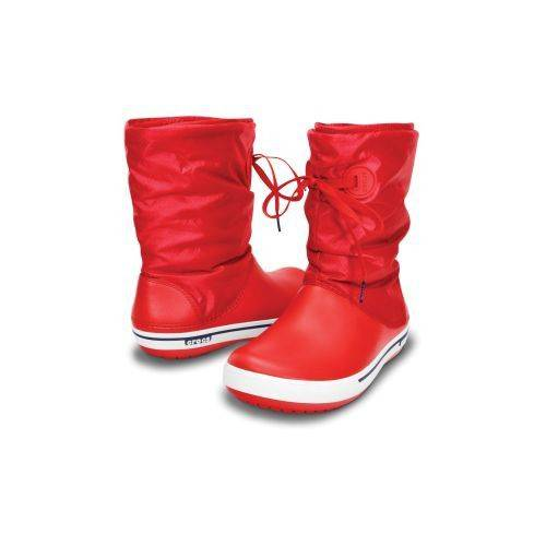 Crocband II.5 Lace Boot Women Bot Red-Nautical N