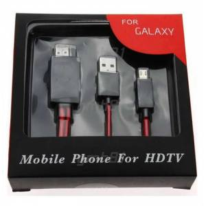 Samsung Galaxy S3,4&Note 2 Hdmi Mhl TV Kablosu