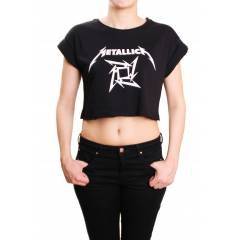 Metallica Crop Top(1) - �CRETS�Z KARGO