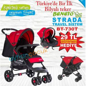 Beneto 2014 Strada Travel Set Bebek Arabas�