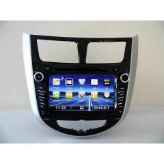 HYUNDA� ACCENT BLUE NAV�GASYON DVD BLUETOOTH TV
