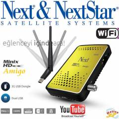 NEXT M�N�X HD AM�GO FULL HD + W�F� 2,4