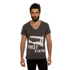 Biggdesign Tshirt First Station M