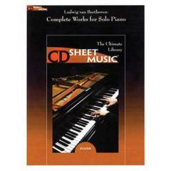 Complete Works for Solo Piano Beethoven /CD-rom
