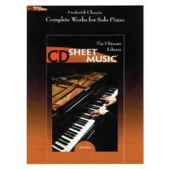 Complete Works for Solo Piano, Chopin /CD-rom