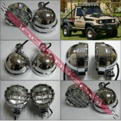 Off Road Jeep 4x4 Tepe Sis Lambas� Far Krom 16cm