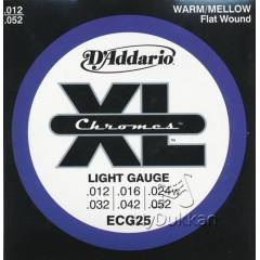 D'addario ECG25 - Regular Light Tak�m Tel