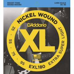 D'addario EXL180 Extra Super Light Tak�m Tel