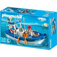 Play Mobil Tekne ve Bal�k�� PLAYMOB�L 5131