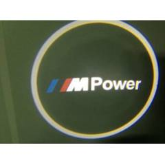 M  POWER  KAPI ALTI LED LOGO-LAZER  LOGO
