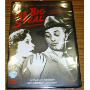 THE BIG STEAL * ROBERT MITCHUM * JANE GREER