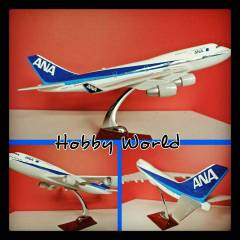All Nippon Airways Boeing 747-400 Resin Model