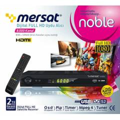 MERSAT NOBLE D�J�TAL FULL HD UYDU ALICISI