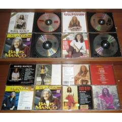 4 ADET BARI� MAN�O CD'S�