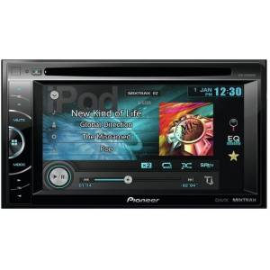 Pioneer avh-x1600dvd multimedya double dvd oto t