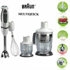 BRAUN MR540 MULT�QU�CK PROFESS�ONAL BLENDER SET�
