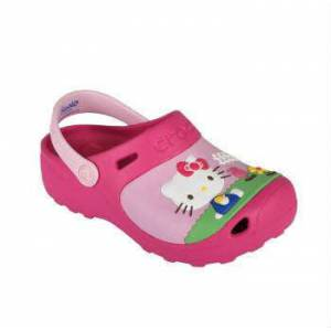 Crocs HPMB Hello Kitty Custom Pink �ocuk Terlik