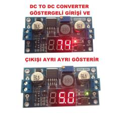 Dc Dc converter - step-up  G�stergeli