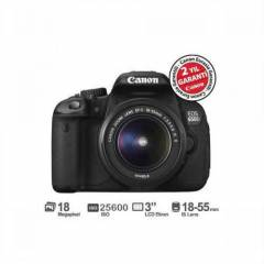 Canon EOS 650D + 18-55mm IS II Lens Dijital SLR