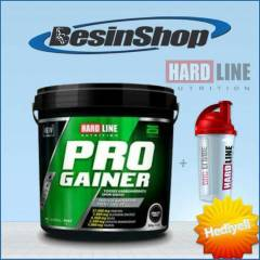 HardLine Progainer  Strawberry- 5000gr + Shaker