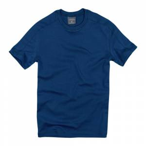Cottonland NORTH Erkek Stretch T-Shirt PETROL