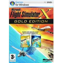 PC MiCROSOFT FLiGHT SiMULATOR X GOLD EDiTiON