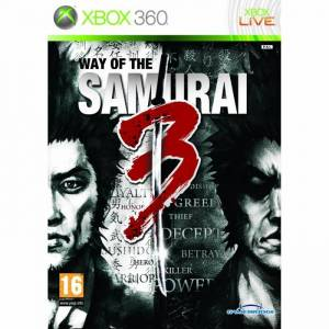 XBOX 360 WAY OF THE SAMURAi 3 (SIFIR PAL) STOKTA