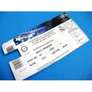 MA� B�LET� Galatasaray & Real Madrid CF TICKET