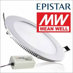 LED SPOT 12W  26,00 TL (MEANWELL DRIVER)