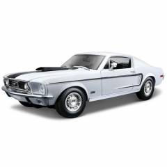 Maisto Ford Mustang Gt Cobra Jet Fb 1968 1:18 Be