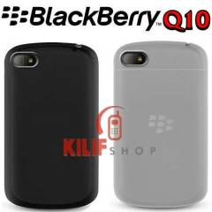 BlackBerry Q10 Ultra Elastik TPU K�l�f +3Film