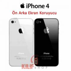 Apple iPhone 4 Arka Pil Kapa�� +�n Arka Film