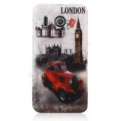 Huawei Ascend Y320 K�l�f Sert Mat Rubber London