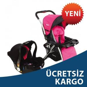 Kraft Aura Travel Sistem  Bebek Arabas� Pembe