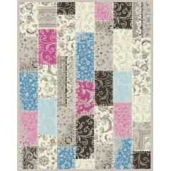 SARY�N PATCHWORK SALON HALISI 6 m2