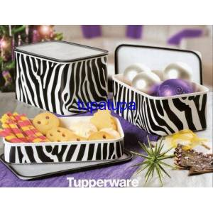 TUPPERWARE ZEBRA SU SET 2 BOY NAD�R BULUNUR