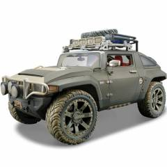 Maisto Hummer Hx Concept 1:18 Model Araba Dirt R