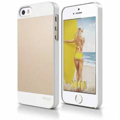 iPhone 5S K�l�f Tam Uyum Gold iPhone 5S K�l�f