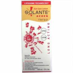 Solante Acnes Sun Care Lotion   SPF50+tinted