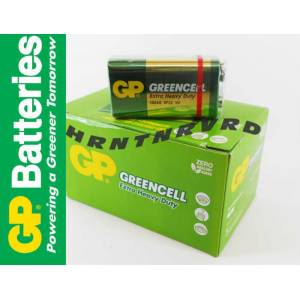 GP GREENCELL 9 VOLT P�L 10 LU PAKET