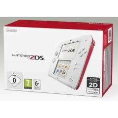 Nintendo 2DS WHITE + RED + S�f�r + PAL