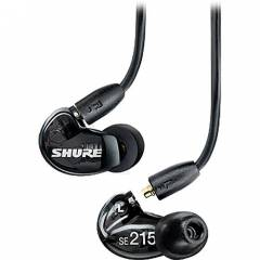 Shure SE215 Earphones Sound Isolating SE215-K -