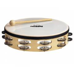 Nino 25 Headed Wood Tambourines �ift s�ra zilli