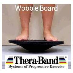 THERA-BAND WOBBLE BOARD �OK Y�NL� DENGE TAHTASI