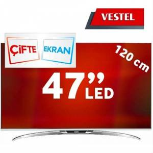 "Vestel 3D Smart 47Pf9090 Smart Full HD 47"" LedTv"
