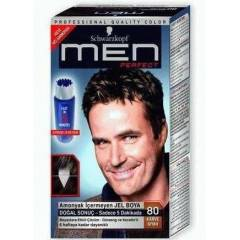 SCHWARZKOPF MEN PERFECT 80-KAHVE S�YAH JEL BOYA